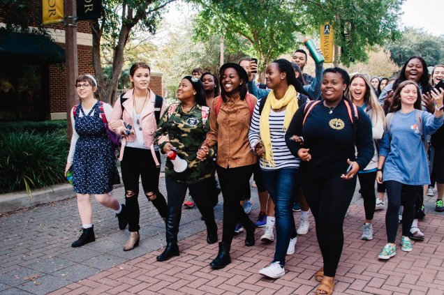 I Walk With Natasha March, Baylor University (Photograph by Marissa Elaine Photography)